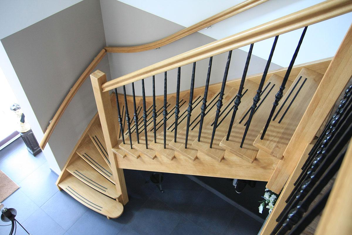 Ttl trappen en timmerwerken albergen overijssel twente for Trap onderkwart
